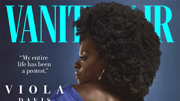 Viola Davis 'Vanity Fair' Cover Is The 1st Shot By A Black Photog In Magazine's History + Actress Says 'I Betrayed My People' W/ Role In 'The Help'