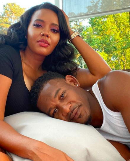 Angela Simmons Gets Cozy W/ Boxer Boyfriend Daniel Jacobs [PHOTOS]