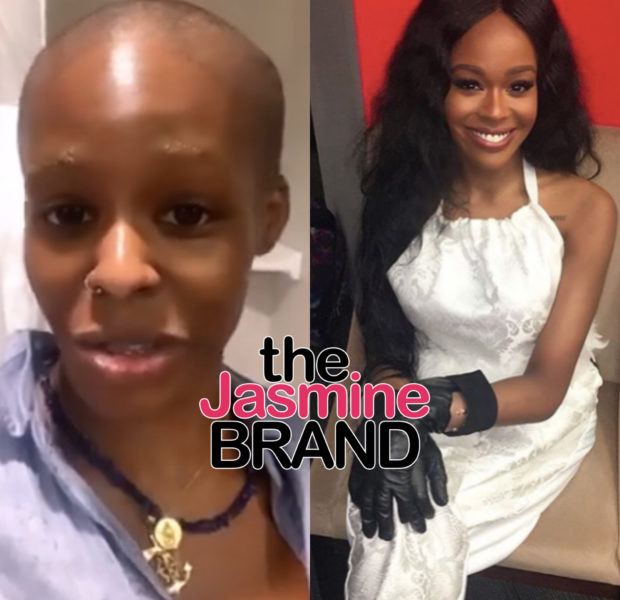 Rapper Azealia Banks Completely Shaves Off Her Hair [VIDEO]