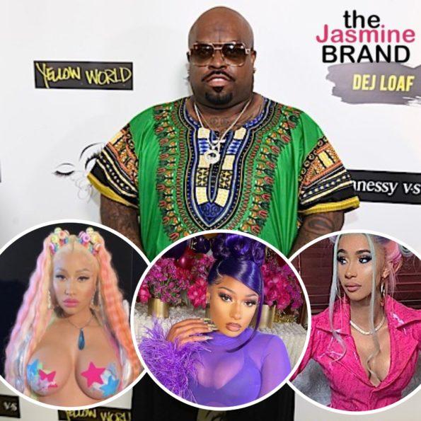 Ceelo Slams Racy Music From Nicki Minaj Cardi B Megan Thee