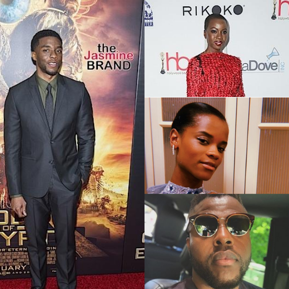 'Black Panther' Stars Danai Gurira, Letitia Wright & Winston Duke Mourn Chadwick Boseman: How Do You Honor A King?