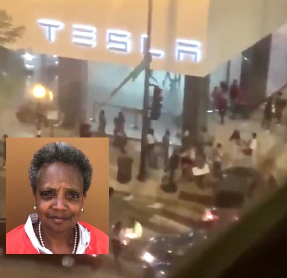 Over 100 Chicago Civilians Arrested For Looting After Police-Involved Shooting, Mayor Lori Lightfoot Responds: You Have No Right To Take & Destroy The Property Of Others!