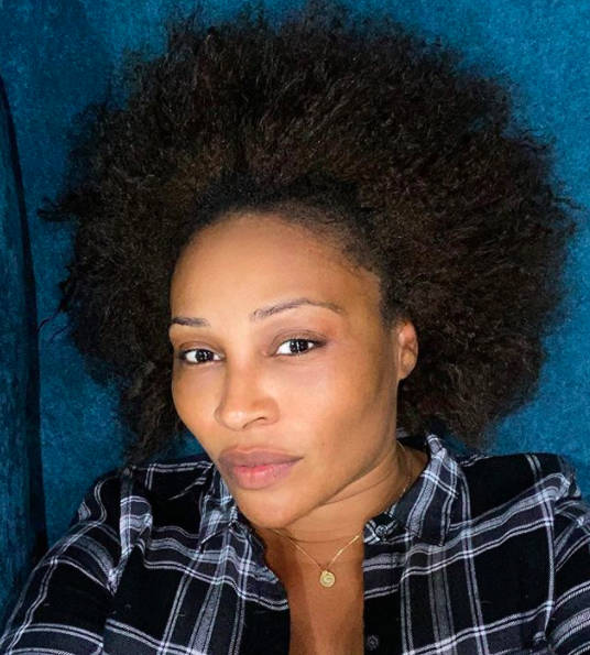 Cynthia Bailey Goes Makeup Free As She Shows Off Her Natural Hair