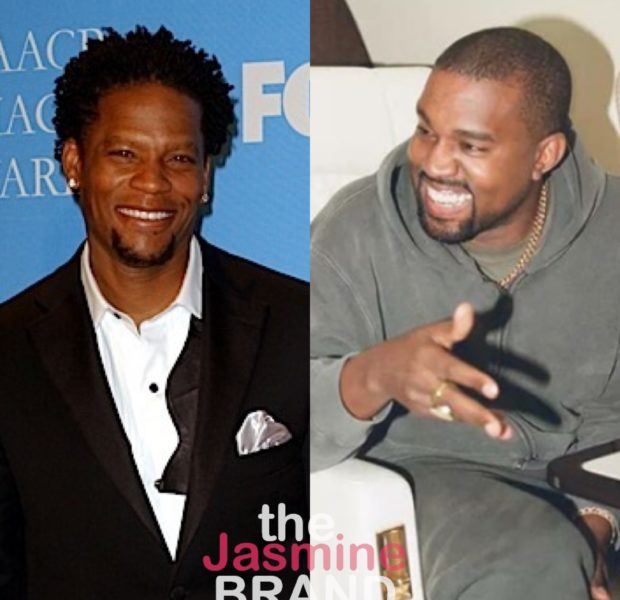 "D.L. Hughley Accuses Kanye West Of Being Conveniently Mentally ILL, ""He's Exactly Like Donald Trump"""