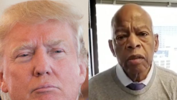 Donald Trump Refuses To Acknowledge Late Congressman John Lewis' Accomplishments