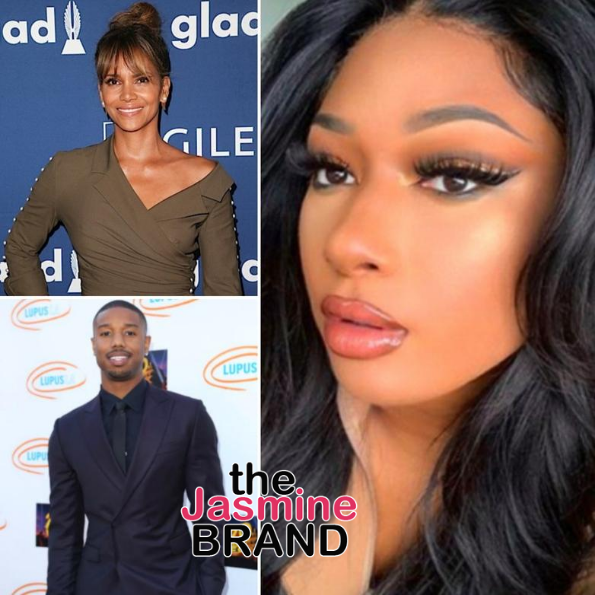 Michael B. Jordan Stands By Megan Thee Stallion + Halle Berry Adds: F*** This S***, Protect Black Women