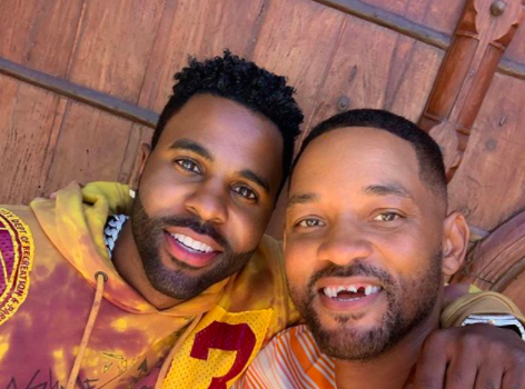 Will Smith Seems To Knock Out His Teeth During Golf Session W/ Jason Derulo