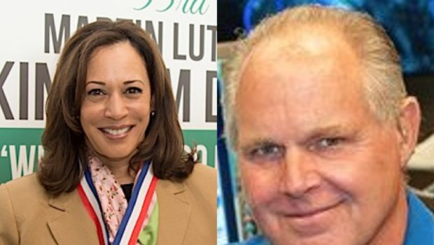 Rush Limbaugh Under Fire For Comments Against Kamala Harris, Refers To Her As A 'Mattress'