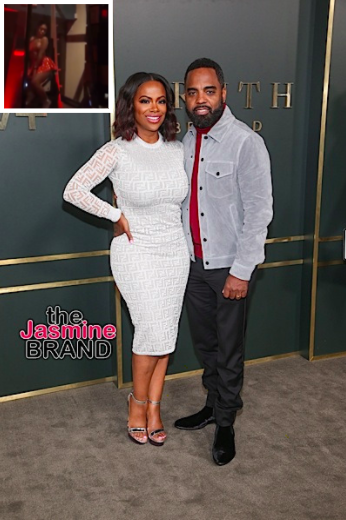 Kandi Burruss Throws Birthday Party For Husband Todd Tucker W/ Strippers In Glass Boxes