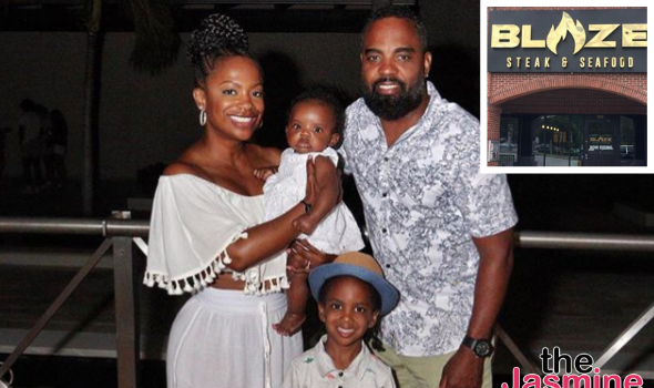 Kandi Burruss & Todd Tucker Are Opening A New Restaurant In Atlanta, Named After Their Daughter Blaze
