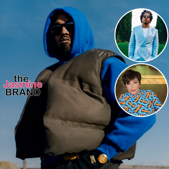 Kanye Says He 'Misses' His 'Bro' Jay-Z + Salutes Kris Jenner: She Makes The Best Music Playlist