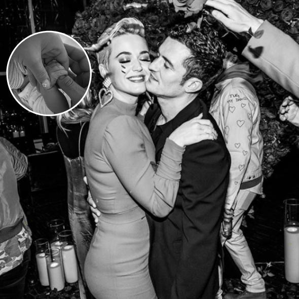 Katy Perry & Orlando Bloom Welcome Baby Girl!