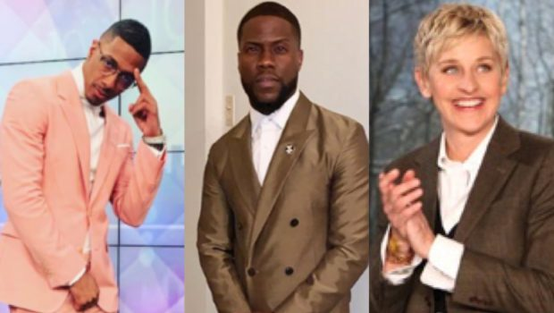 Kevin Hart Responds To Criticism After Defending Ellen + Addresses Speculation That He Did NOT Support Nick Cannon Publicly