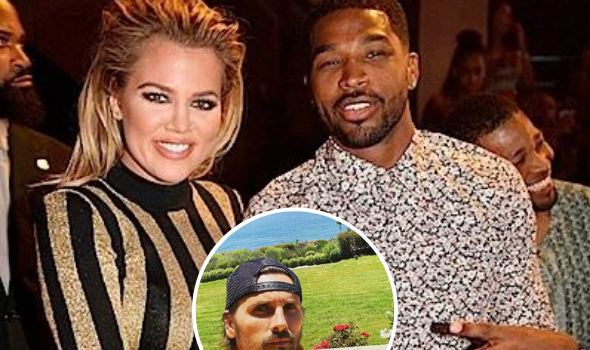 Scott Disick Fuels Rumors Khloe Kardashian & Tristan Thompson Are Back Together: He's A Lucky Man!
