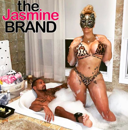 Kimbella & Juelz Santana Post Steamy Bathtub Photos