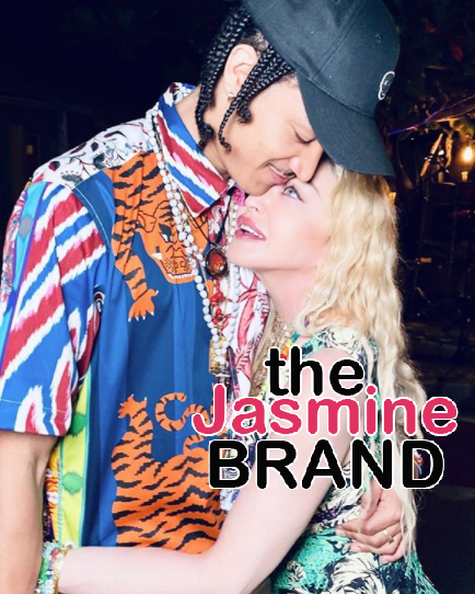Madonna & Her Young Boyfriend, Ahlamalik Williams, Spend Her 62nd Birthday In Jamaica