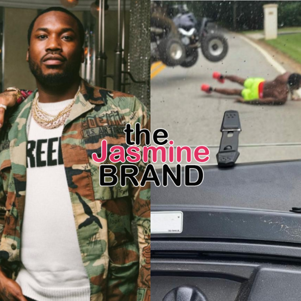 Meek Mill Falls Off ATV: I'ma Be Aight!