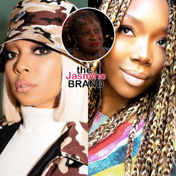 Brandy's TV Mom Thea Vidale Says She's 'Rooting For Monica' In Verzuz Battle: I Will Always Disagree W/ Brandy's & Her Mama's Disrespect!