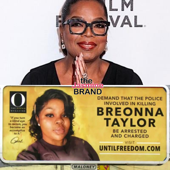 Oprah Buys 26 Billboards Around Kentucky Calling For Justice For Breonna Taylor