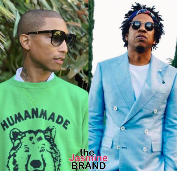"""Pharrell & Jay Z Release New Track """"Entrepreneur"""" [New Music]"""