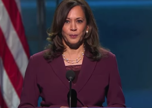 Kamala Harris Officially Becomes First Black Woman To Be A Major Party's Vice Presidential Nominee, Watch Her Full Speech