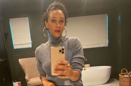 Tia Mowry Shows Off 68 Pound Weight Loss