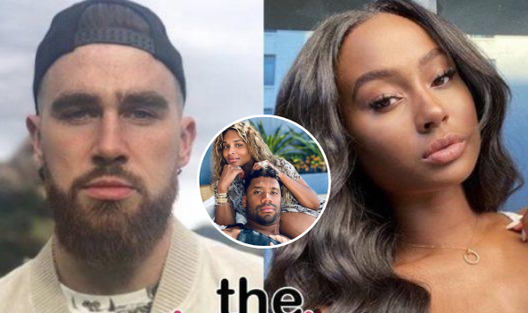 NFL's Travis Kelce & Model Kayla Nicole Appear To Split + She Slams Ciara & Russell Wilson: They're Really Force Feeding This