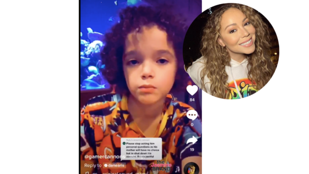 "Mariah Carey's 9-Year-Old Son Moroccan Cannon Tells Social Media User ""My Mom Wouldn't Do That, My Life Is None Of Your Business"""