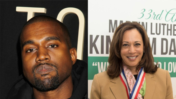 """Kanye Tweets Kamala Harris """"It's An Honor To Run Against You"""", As He Refers To Himself As The Future President"""