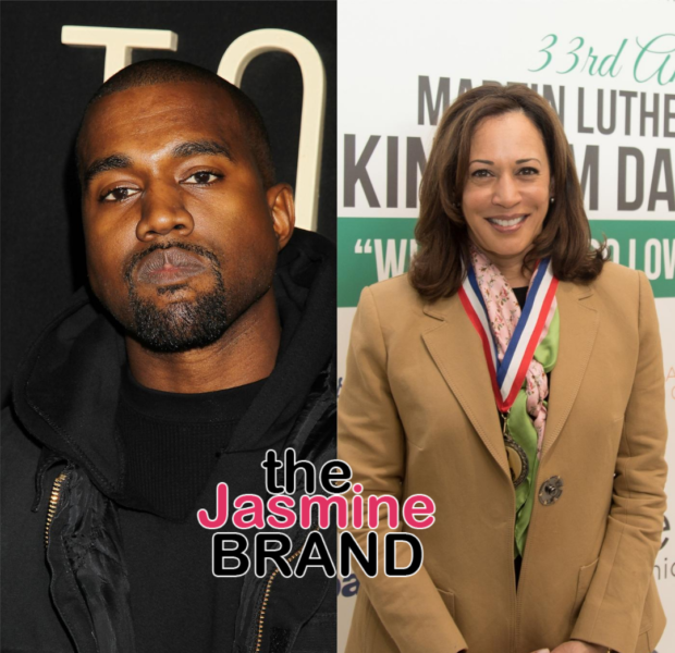"Kanye Tweets Kamala Harris ""It's An Honor To Run Against You"", As He Refers To Himself As The Future President"
