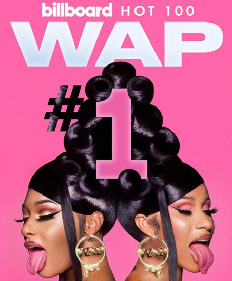 Cardi B & Megan Thee Stallion Make Female Rap History As 'WAP' Debuts At #1