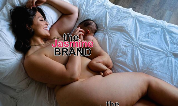 Ashley Graham Poses Nude, As She Breastfeeds Son For Magazine Shoot
