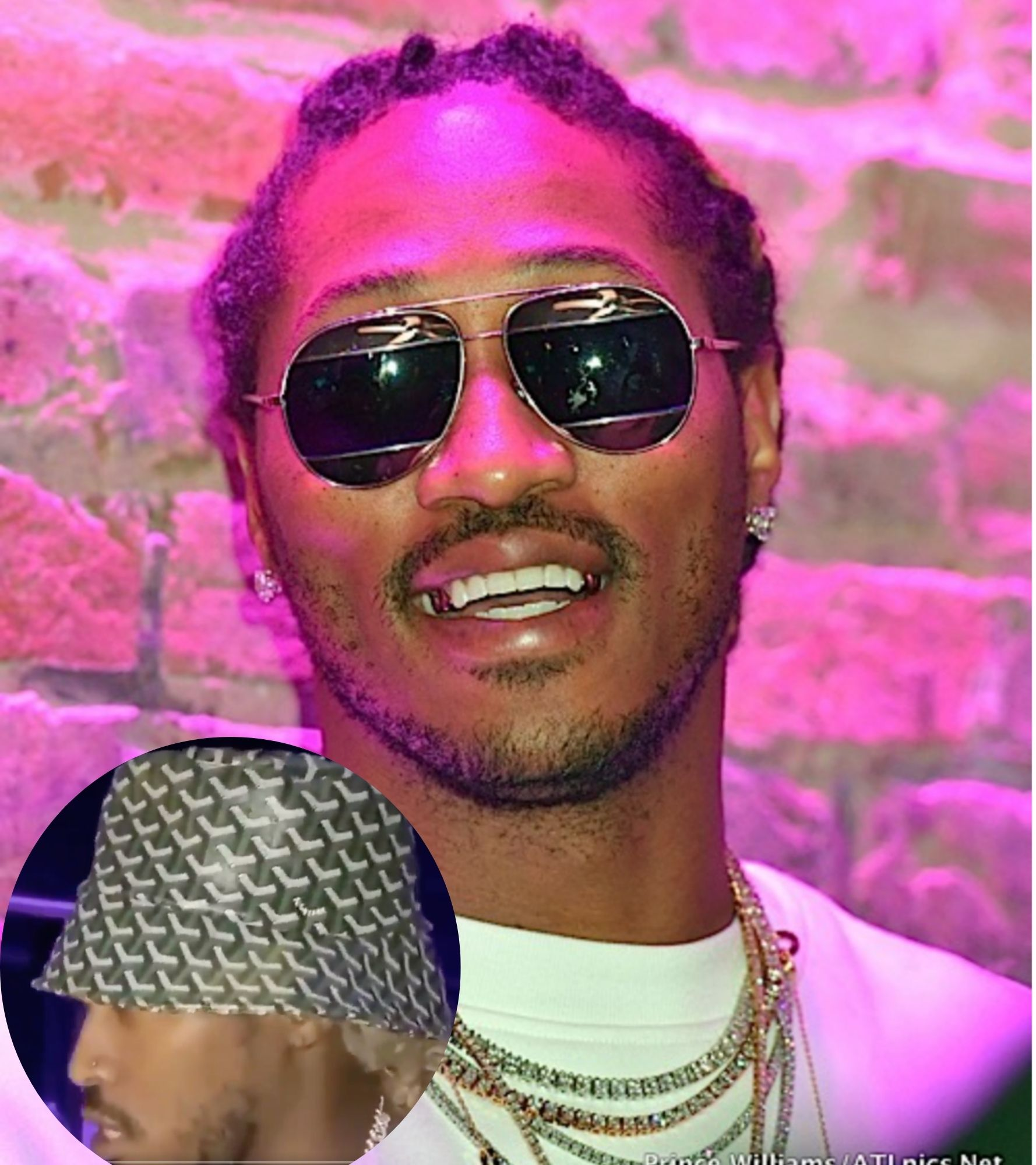 Future Teases New Track Gucci Bucket Hat Wearing A Goyard Hat Some Fans Are Confused Thejasminebrand