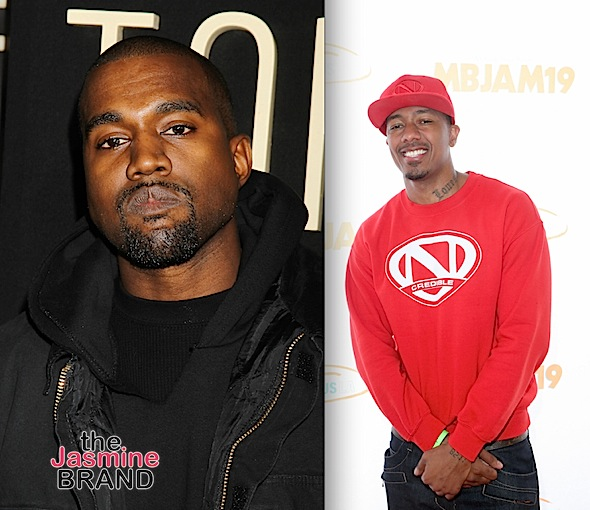 Nick Cannon Supports Kanye's Presidential Bid