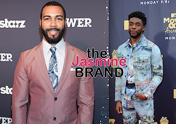 "Omari Hardwick Criticized For Referring To Chadwick Boseman As One Of His ""Biggest Competitors"" In Tribute Post"