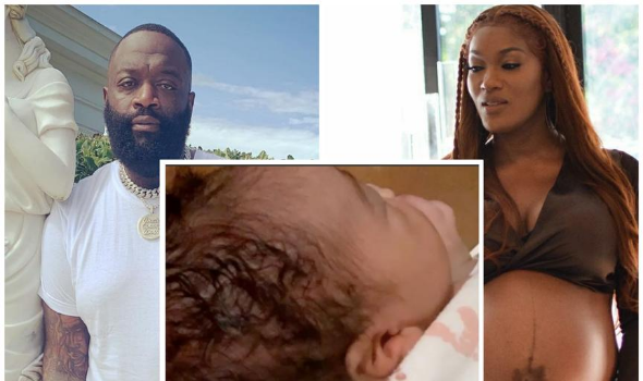 Rick Ross & Briana Camille Welcome Baby #3 Amid Ongoing Court Battle