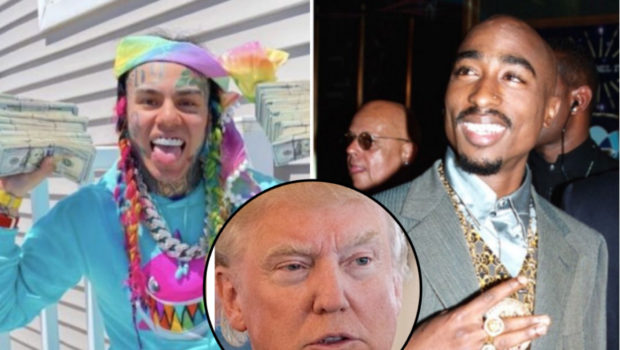 Tekashi 6ix9ine Says There's No Difference Between Him & Tupac + Would Vote For Trump In 2020 Election
