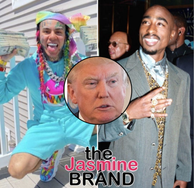 Tekashi 6ix9ine SaysThere's No Difference Between Him & Tupac + Would Vote For Trump In 2020 Election