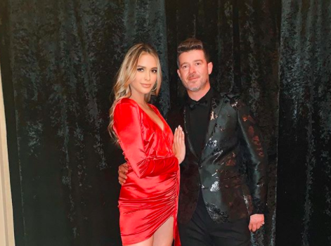 Robin Thicke & Girlfriend April Love Geary Expecting 3rd Child Together, His 4th