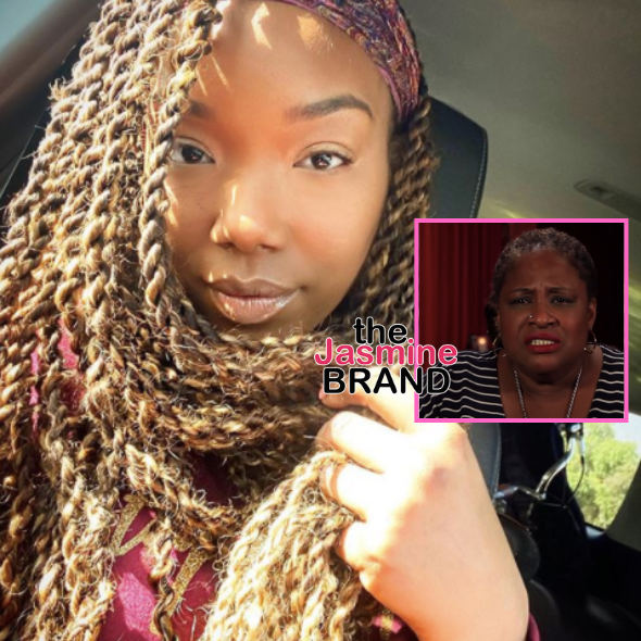 Brandy On Thea Vidale's Claims She Was Disrespectful Back In The Day: She's Just A Little Bitter