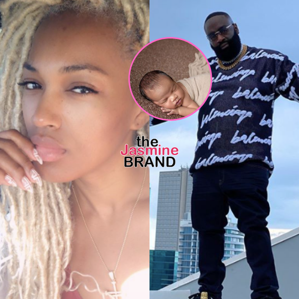 Rick Ross' Ex Briana Camille Shares New Photo Of Their 3rd Child Together, Baby Bliss