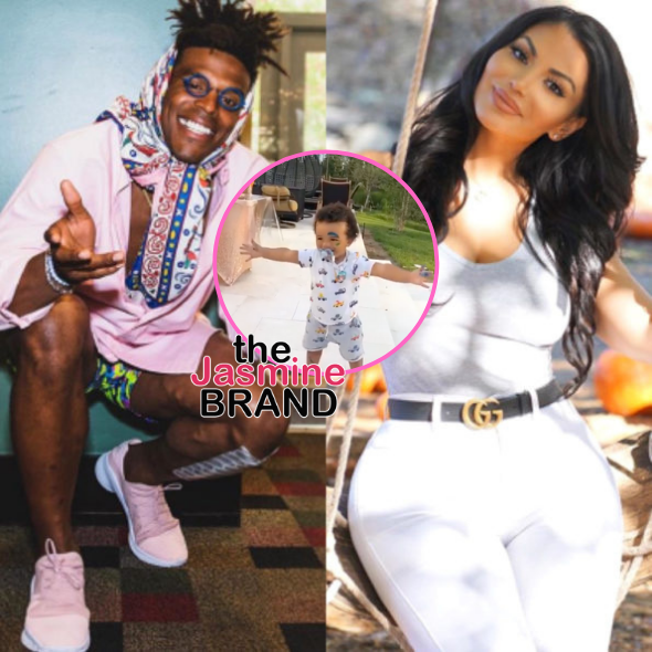 Cam Newton's Rumored Girlfriend La Reina Shaw Shares New Photos Of Their Son Caesar