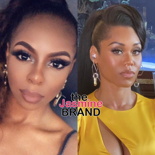 'Real Housewives Of Potomac' Star Candiace Dillard Is 'Still Confused' About What Started Fight W/ Monique Samuels: I Don't Know What I Did To This Person