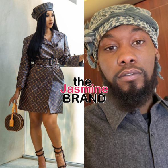 Cardi B Isn't Divorcing Offset Because He's Having A Baby, 'There Is No Other Child', Source Said