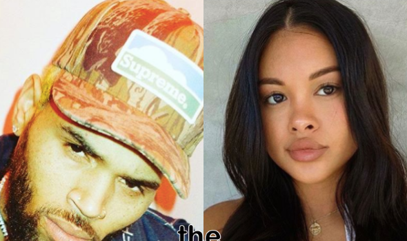 Chris Brown's Son's Mother Ammika Harris Appears To Shut Down Breakup Rumors W/ New Photo