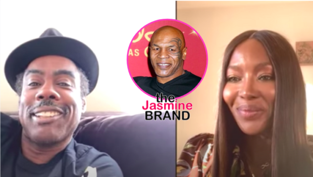 Chris Rock Jokingly Recalls A Time Mike Tyson Possibly Pushed Naomi Campbell Out Of A Moving Car