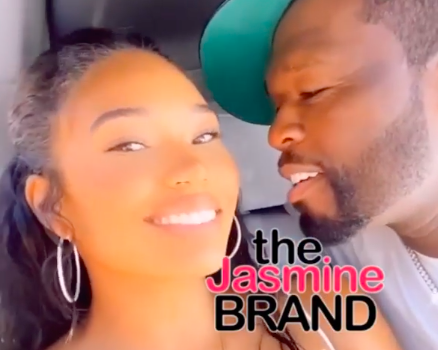 50 Cent Gets Close To Girlfriend Cuban Link During Romantic Weekend [PHOTOS]