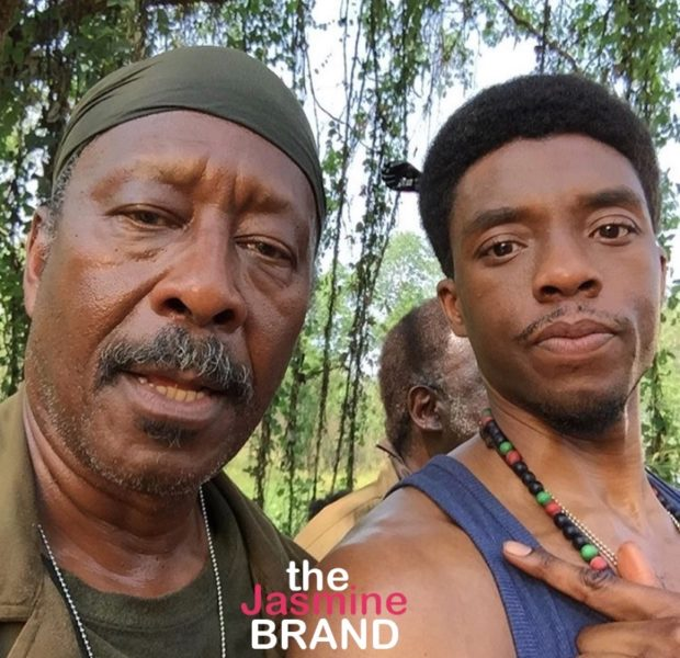 "Actor Clarke Peters Gets Emotional, Regrets That He Thought Chadwick Boseman Was ""Precious"" While Filming 'Da 5 Bloods'"