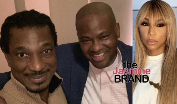 """EXCLUSIVE: Tamar Braxton's Ex Vincent Herbert Was Supposed To Be On Her Reality Show But Boyfriend David """"Shut It Down"""" Says Source"""