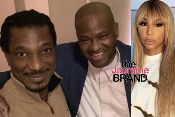 "EXCLUSIVE: Tamar Braxton's Ex Vincent Herbert Was Supposed To Be On Her Reality Show But Boyfriend David ""Shut It Down"" Says Source"